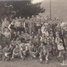 Fotografía antigua: 1934 FINALISTAS CONCURSO ALPINO CICLISTA LEMONA / FOTOGRAFO INDALECIO GANGUREN (EIBAR). Lote 144378150