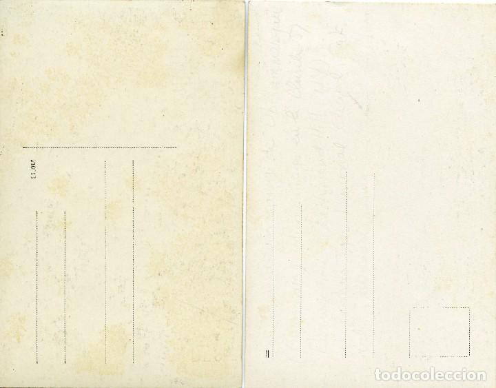Fotografía antigua: Dos fotografías del actor alemán Alois Lang, dedicadas, Oberammergau Passion Play. - Foto 2 - 144645894