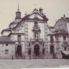 Fotografía antigua: FOTOGRAFÍA (8X11) IGLESIA DE SAN JOSÉ Y TEATRO APOLO, MADRID. Lote 144978804
