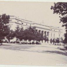 Fotografía antigua: FOTOGRAFÍA (8X11) CALLE BAILEN Y PALACIO REAL. Lote 144978812