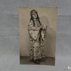 Fotografía antigua: ANTIGUA FOTOGRAFÍA TARJETA POSTAL RETRATO DE UNA MUJER . Lote 145181486