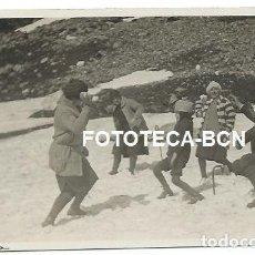 Fotografía antigua: FOTO ORIGINAL VALL DE NURIA EXCURSIONISTAS 27-28 DE MAYO DE 1928. Lote 145755486