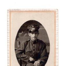 Old photograph - MILITAR CUERPO DE INGENIEROS.- CONUCTOR. FOTO ESTUDIO P. SANCHEZ. PUEBLO NUEVO EL TERRIBLE.(CORDOBA) - 147231870