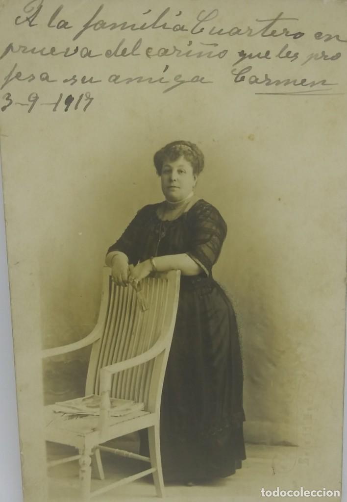 1917 FOTOGRAFÍA TARJETA POSTAL (Fotografía Antigua - Tarjeta Postal)