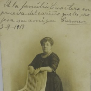 1917 Fotografía tarjeta postal