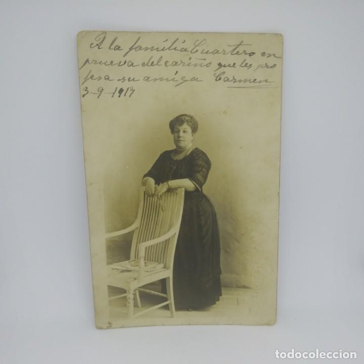 Fotografía antigua: 1917 Fotografía tarjeta postal - Foto 2 - 147436526