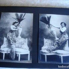 Fotografía antigua: ESPLUGAS: DOS POSTALES FOTOGRÁFICAS (FINALES DEL XIX O PPOS DEL XX). Lote 147659846