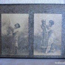 Fotografía antigua: ESPLUGAS: DOS POSTALES FOTOGRÁFICAS (FINALES DEL XIX O PPOS DEL XX). Lote 147659970
