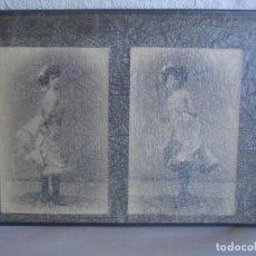 Fotografía antigua: ESPLUGAS: DOS POSTALES FOTOGRÁFICAS (FINALES DEL XIX O PPOS DEL XX). Lote 147660090