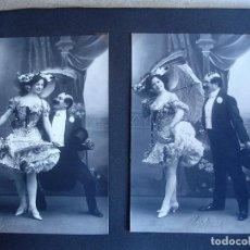 Fotografía antigua: ESPLUGAS: DOS POSTALES FOTOGRÁFICAS (FINALES DEL XIX O PPOS DEL XX). Lote 147660546