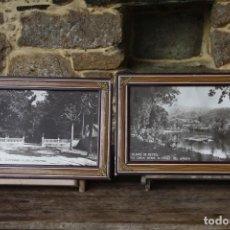 Fotografía antigua: DOS FOTOGRAFÍAS ANTIGUAS DE CALDAS DE REIS (PONTEVEDRA). Lote 148509714