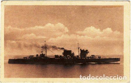CRUCERO CANARIAS ARMADA ESPAÑOLA (Fotografía Antigua - Tarjeta Postal)