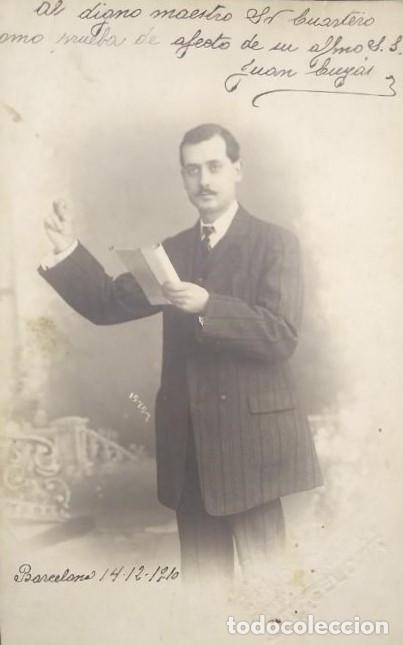 1910 BARCELONA FOTÓGRAFO J. FABREGAT BARCELONA (Fotografía Antigua - Tarjeta Postal)