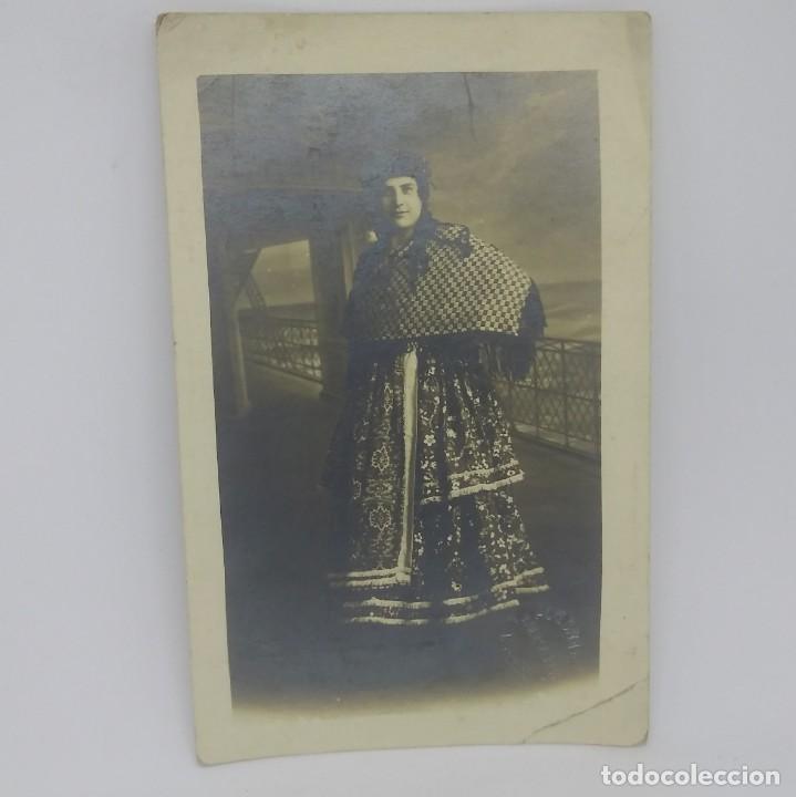 Fotografía antigua: Antigua postal Alograff - Foto 2 - 147776038