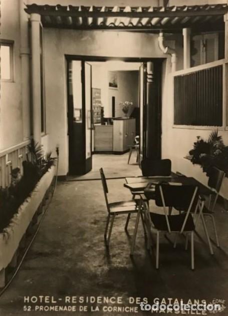 HOTEL RESIDENCE DES CATALANS. 52 PROMENADE DE LA CORNICHE. MARSEILLE 14,7X10,3 CM (Fotografía Antigua - Tarjeta Postal)