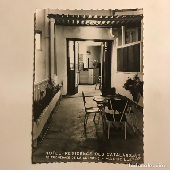 Fotografía antigua: Hotel Residence des Catalans. 52 promenade de la Corniche. Marseille 14,7x10,3 cm - Foto 2 - 149324394