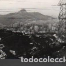 Fotografía antigua: FOTO TAMAÑO POSTAL TORRE BARÒ CIUTAT MERIDIANA TURO MONTCADA LINEAS ALTA TENSIO. Lote 151500134
