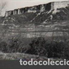 Fotografía antigua: FOTO TAMAÑO POSTAL PLANELL D CONREU I PASTURA SOTA CINGLES DEL FAR TERME S RUPIT OSONA. Lote 151500854