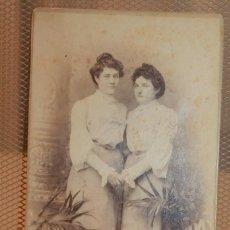Fotografía antigua: TARJETA POSTAL DE ALBÚMINA SOBRE CARTÓN. J.E. PUIG FOT. BARCELONA. 16,5 X 10,5 CM. INF. 3 FOTOS.. Lote 151570670