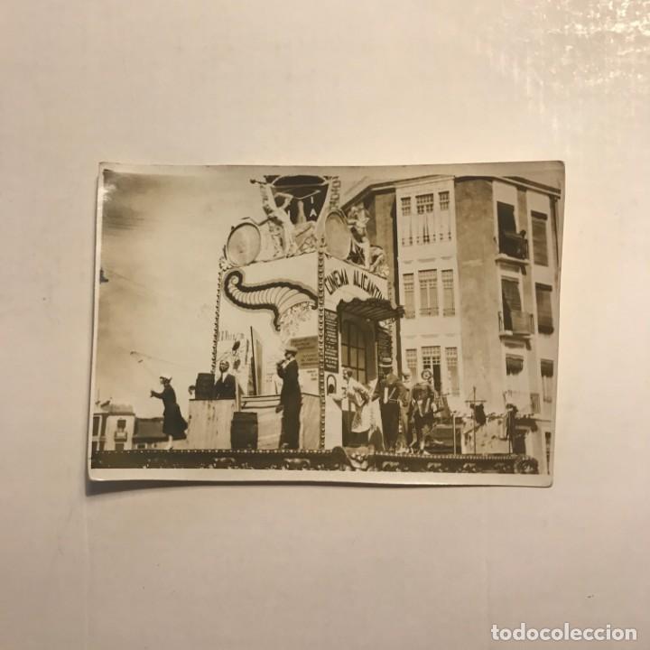 Fotografía antigua: Falla Alicantina. junio 1930 - Foto 2 - 146737906