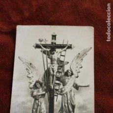 Fotografia antica: POSTAL CRISTO DE LA FE, ADZANETA DE LA ALBAIDA, VALENCIA. Lote 151837138
