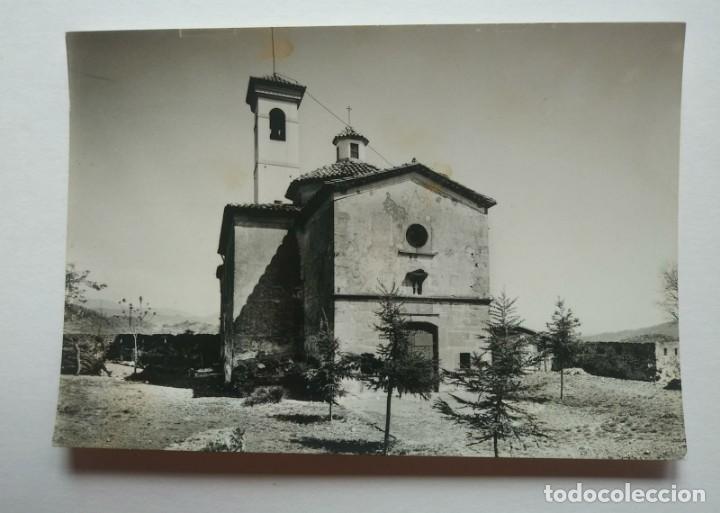 Fotografía antigua: OLOT Ermita de San Francisco nº63 10 x 15 Fotografia postal Fotógrafo J.Cebollero - Foto 2 - 140731722