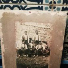 Fotografía antigua: ANTIGUA FOTOGRAFÍA POSTAL VELOZ DE AZUARA ZARAGOZA. Lote 152492452