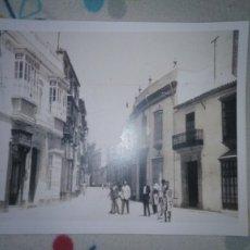 Fotografía antigua: FOTO DE MORÓN DE LA FRONTERA 28 X 43 CM APROXIMADAMENTE. Lote 152757590