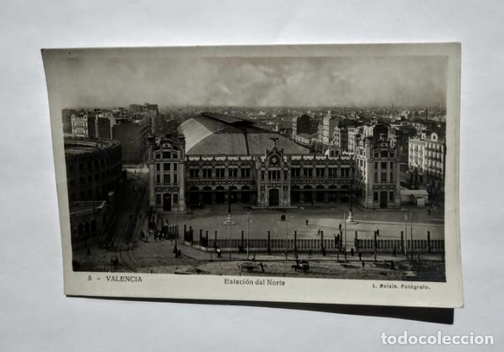 Fotografía antigua: Valencia Estación del norte L.Rosin - Foto 2 - 135136434