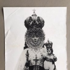 Fotografía antigua: ANTIGUA FOTOGRAFÍA POSTAL, VIRGEN DE LA FUENSANTA, MURCIA. Lote 153430522