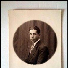 Fotografía antigua: FOTOGRAFIA PRINCIPIOS SIGLO XX TARJETA POSTAL RETRATO CABALLERO ESTUDIO RANZMAN SEVILLA. Lote 153563290