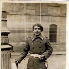 Fotografía antigua: MILITAR BONITA FOTO MILITAR AÑO 1931 SIN FOTÓGRAFO . Lote 153566990