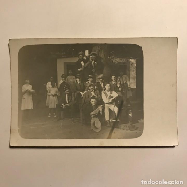 Fotografía antigua: Fotografía costumbrista 14,2x9,1 cm - Foto 2 - 149274118