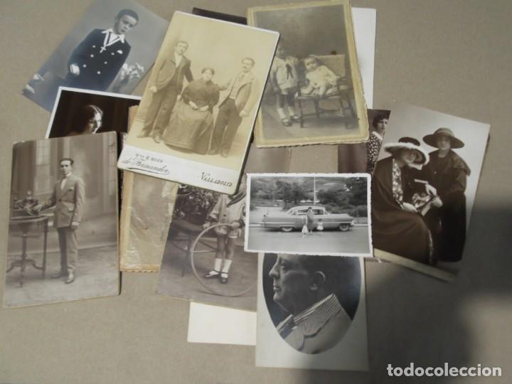 LOTE DE ANTIGUAS FOTO TARJETAS POSTALES (Fotografía Antigua - Tarjeta Postal)