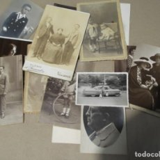 Fotografía antigua: LOTE DE ANTIGUAS FOTO TARJETAS POSTALES . Lote 154012342