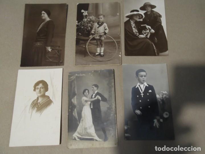 Fotografía antigua: LOTE DE ANTIGUAS FOTO TARJETAS POSTALES - Foto 2 - 154012342