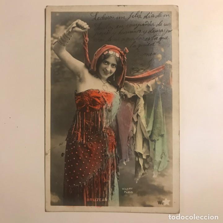 Fotografía antigua: Bruzeau. Walery Paris. Fotografía / Tarjeta postal original circulada. Principios de siglo - Foto 2 - 154495806