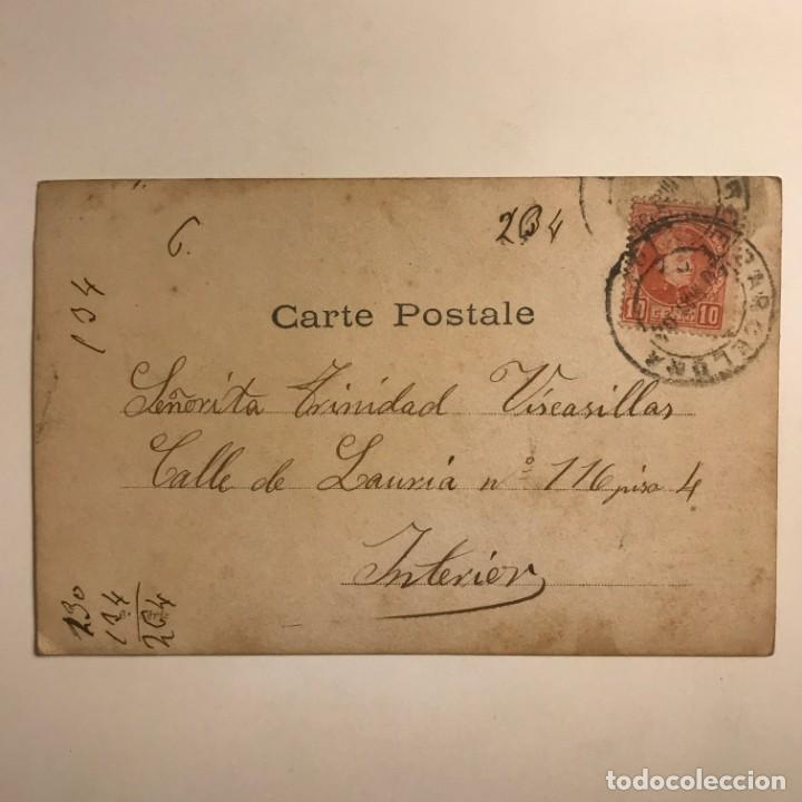 Fotografía antigua: Bruzeau. Walery Paris. Fotografía / Tarjeta postal original circulada. Principios de siglo - Foto 3 - 154495806