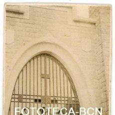 Fotografía antigua: FOTO ORIGINAL CASA CASTILLO INSPIRACION MODERNISTA MODERNISMO CATALUNYA AÑOS 20. Lote 154652054