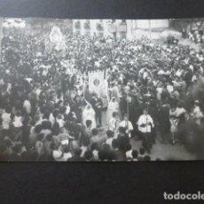 Fotografía antigua: GETAFE MADRID PROCESION NUESTRA SEÑORA DE LOS ANGELES ANTIGUA FOTOGRAFIA TAMAÑO POSTAL. Lote 154985690