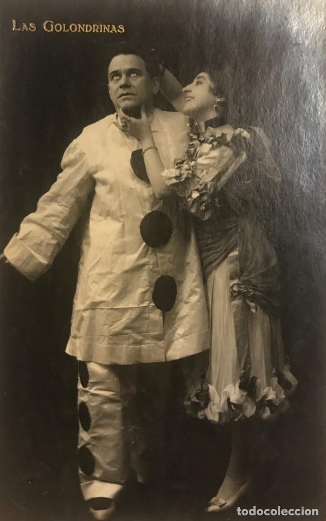 1916 LAS GOLONDRINAS. FOTOGRAFÍA / TARJETA POSTAL (Fotografía Antigua - Tarjeta Postal)