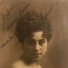 Fotografía antigua - Postal dedicada y firmada. - 155252622