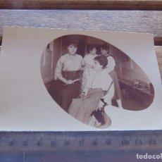 Fotografía antigua: FOTO FOTOGRAFIA TARJETA POSTAL SEÑORITAS . Lote 155603674