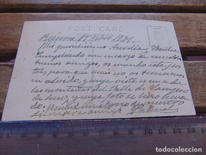 Fotografía antigua: FOTO FOTOGRAFIA TARJETA POSTAL CIRCULADA ENERO 1931 COCHE CLASICO REINOSA ?? - Foto 2 - 155605534