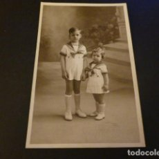 Fotografía antigua: HERMANOS POSTAL FOTOGRAFICA. Lote 155637350