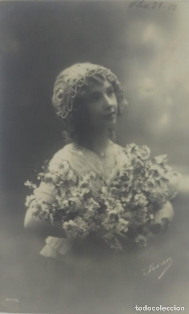 1912 POSTAL CIRCULADA ENVIADA A ARGENTONA. MATASELLOS DE TARRAGONA 1912 Nº2775 (Fotografía Antigua - Tarjeta Postal)