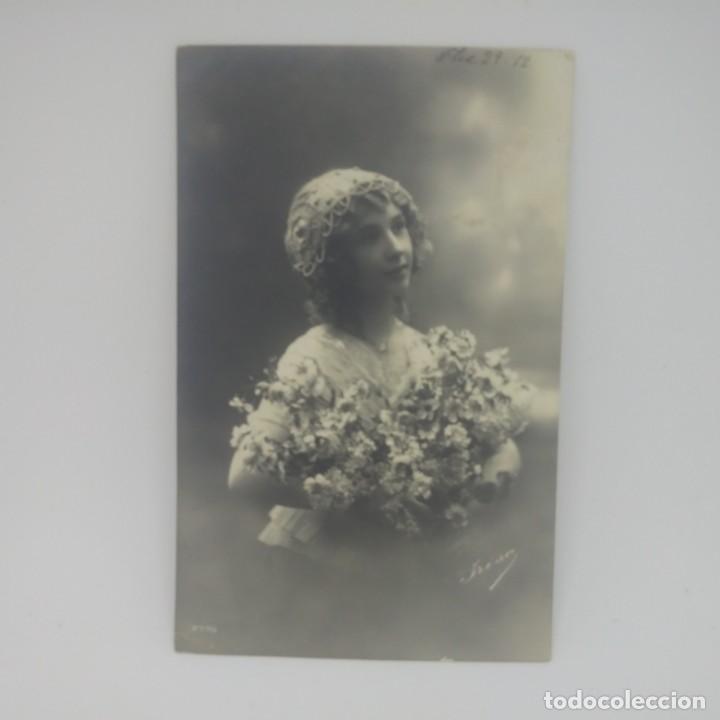 Fotografía antigua: 1912 Postal circulada enviada a Argentona. Matasellos de Tarragona 1912 Nº2775 - Foto 2 - 155639298