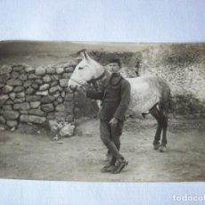 Fotografía antigua: GUARDIA RURAL CON CABALLERIA . POSTAL FOTOGRAFICA . FINALES XIX PRINCIPIO XX. Lote 155743514