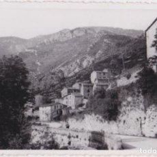 Fotografía antigua: FOTO / POSTAL POBLACIÓN DE LA CERDANYA - AFGA LABORATORIO REGUANT PUIGCERDA - S/C. Lote 155829126