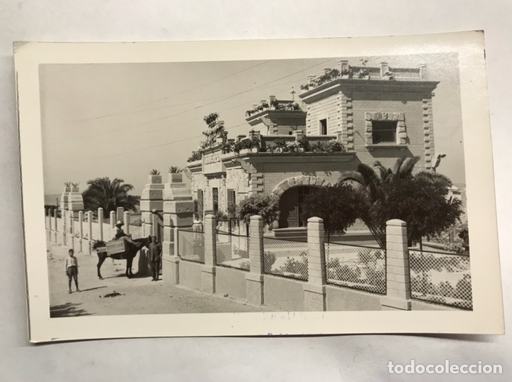 PORCUNA (JAÉN) POSTAL FOTOGRAFÍA.ANIMADA CASA DE LA PIEDRA. EDITA: FOTO CESAR (H.1960?) (Fotografía Antigua - Tarjeta Postal)